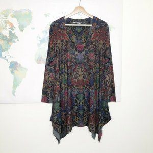 Soft Surroundings Scoop Neck Tunic Top Size Large